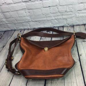 ❤Marino Orlandi Leather Shoulder Handbag Purse